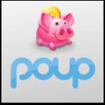 Poup Modelo de negócios Startup e-commerce cashback