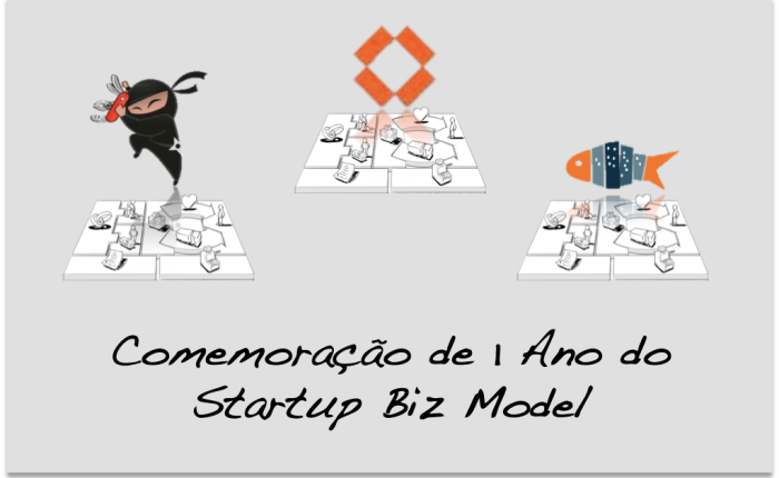 Comemoração de 1 ano de Startup BizModel!!!