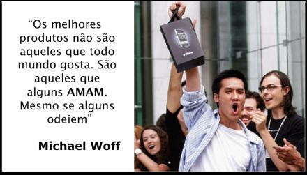 20130123 - Michael Woff - Empreender, Apple, Modelo de negócios, startup, canvas, produtos